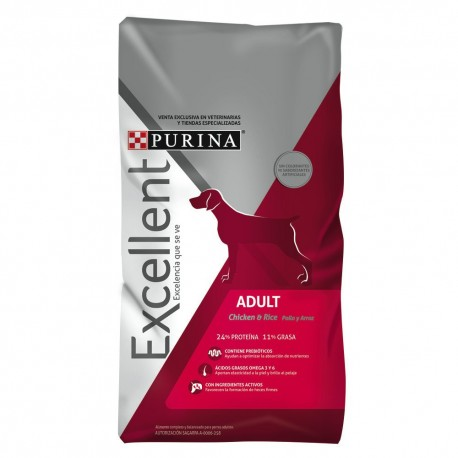Excellent® Adult Dog Chicken & Rice - Envío Gratuito