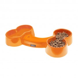 Bowl Hueso Tangerine