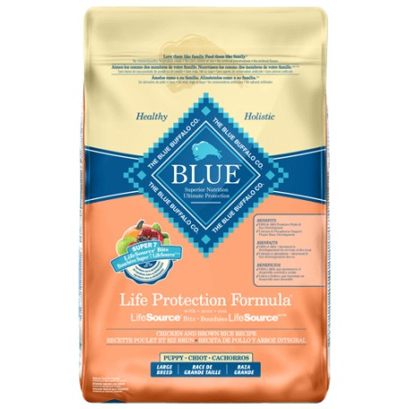 Life Protection Pollo y Arroz Cachorro Raza Grande - Envío Gratuito
