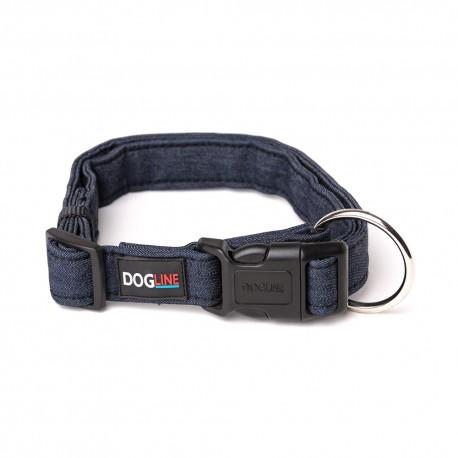 Collar Denim - Grande Por: Dogline - Envío Gratuito