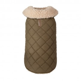 Chamarra Quilted Shearling