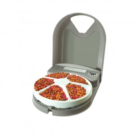5-Meal Automatic Pet Feeder - Envío Gratuito