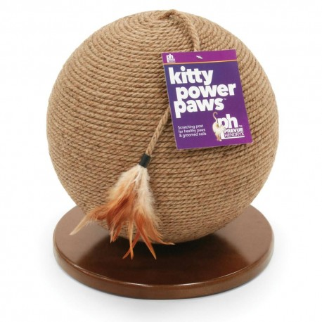 Rascador Sphere With Tassel Toy - Envío Gratuito
