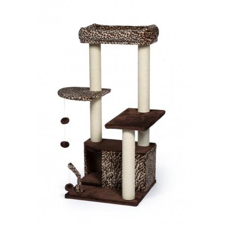 Torre para Gato Kitty Leopard Lounge - Envío Gratuito