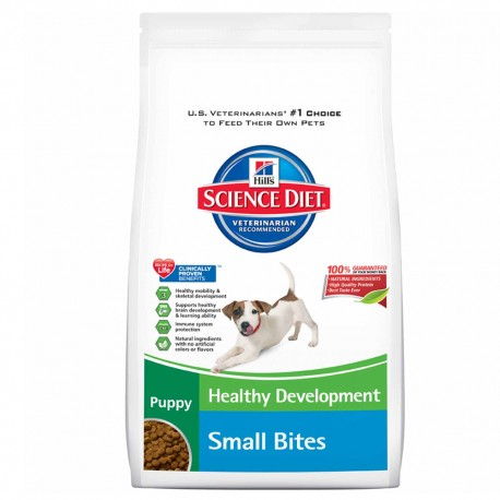 OUTLET: Puppy Small Bites 7 kg - Envío Gratuito