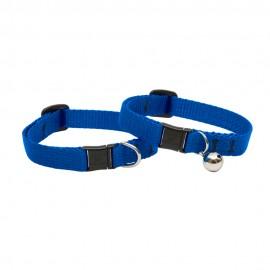 """Collar con Cascabel 1/2"""" Blue - Envío Gratuito"""
