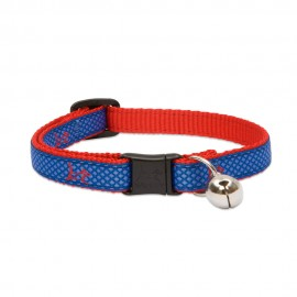 "Collar con Cascabel 1/2"" Newport Blue"