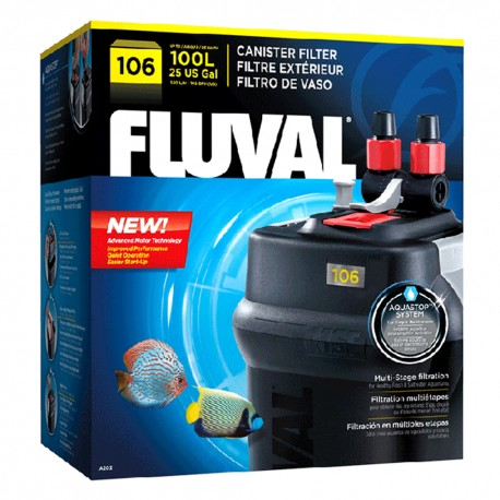 Filtro Fluval 106 - Envío Gratuito