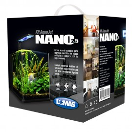 Acuario AquaJet Nano - Envío Gratuito
