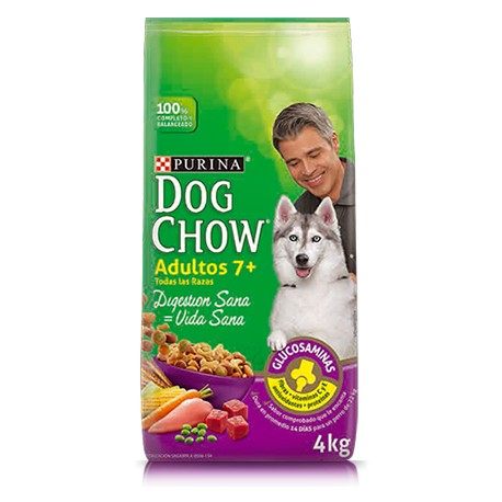 Dog Chow Senior Adulto 7+ - Envío Gratuito