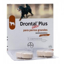 Drontal Plus Perros Grandes - Envío Gratuito