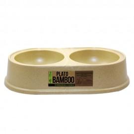 Bowl Bamboo Doble - Envío Gratuito
